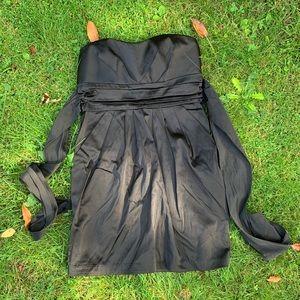 Delia's black semi formal dress